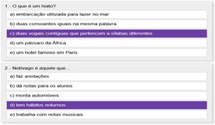 Quiz Da Lingua Portuguesa So Portugues