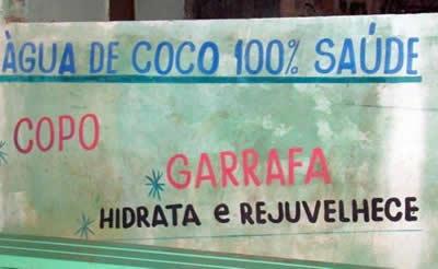 Água-de-coco, Rejuvenece.